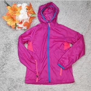 MARMOT Girls Windbreaker with Microfleece